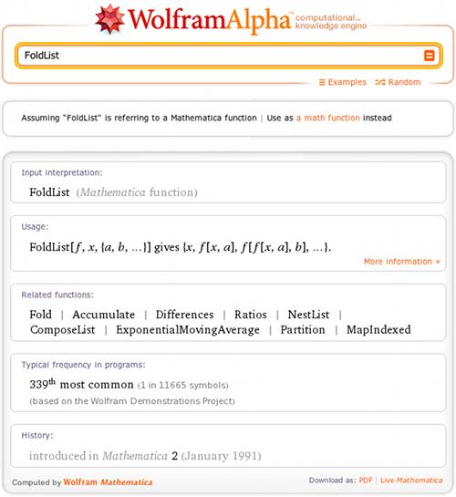 FoldList