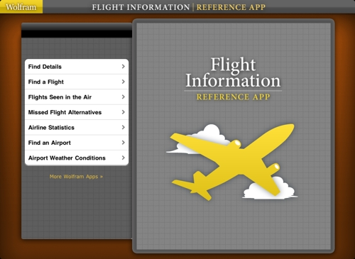 Flight Information Reference App