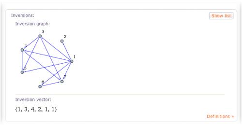 permutation (1 2 5 3 7)(4)(6)