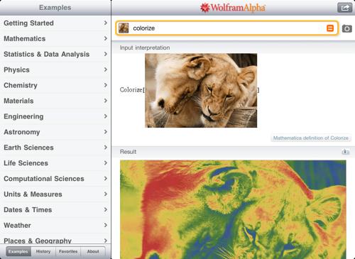 Image analysis on iPad