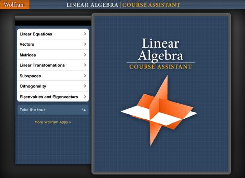 Wolfram Linear Algebra Course Assistant