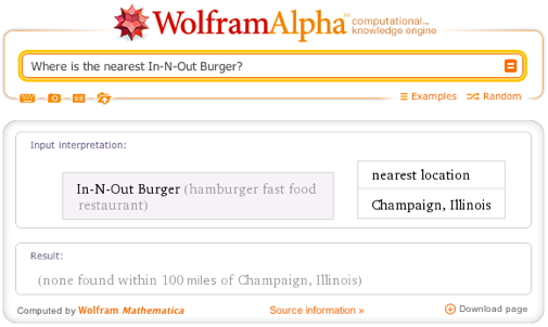 Where is the nearest In-N-Out Burger?