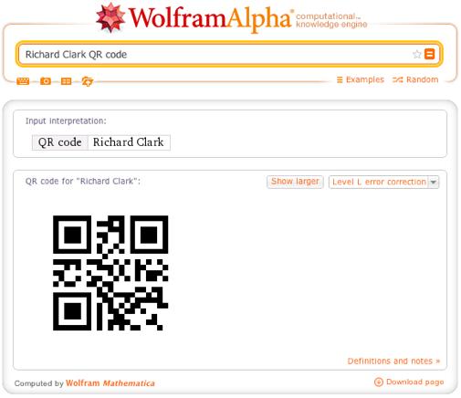 Richard Clark QR code