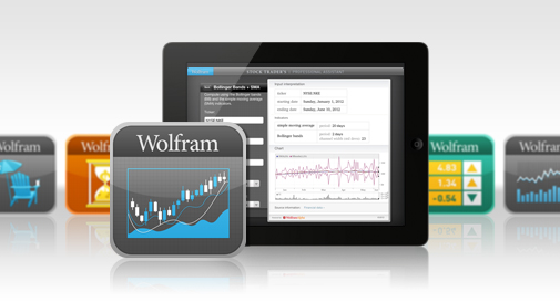 Wolfram|Alpha Finance Apps