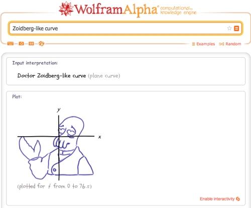 Zoidberg-like curve