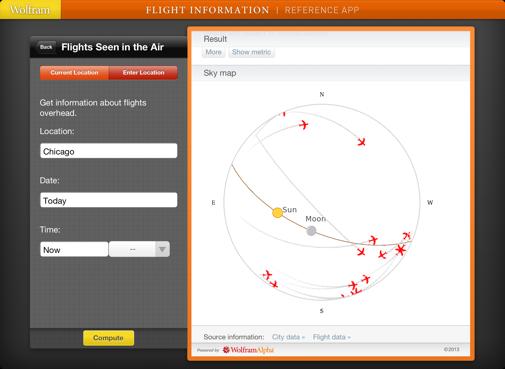 Flight Information Reference App