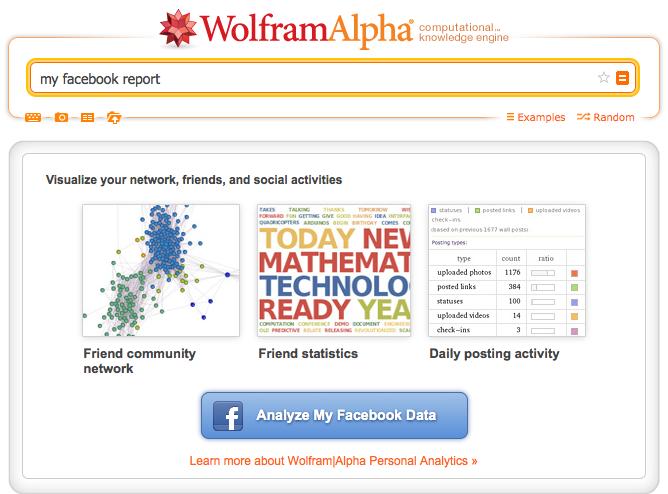 Analyze My Facebook Data