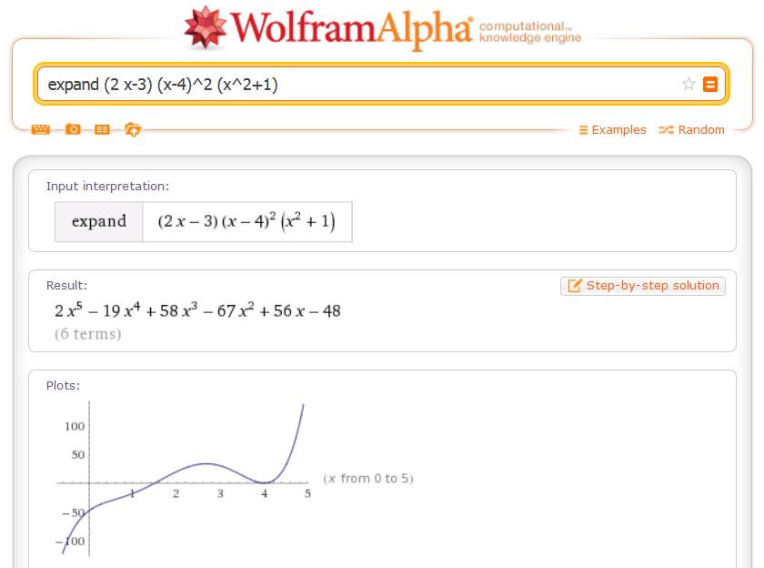 expand (2 x-3) (x-4)^2 (x^2+1)