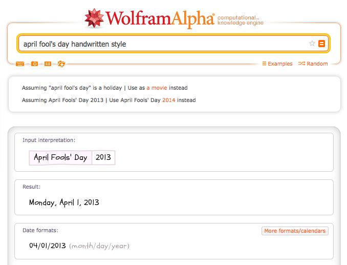 april fool's day handwritten style