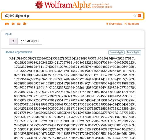 67,890 digits of pi