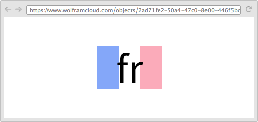 """ay """"bonjour,"""" get a French flag"""