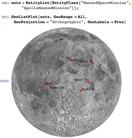 Plotting multiple Apollo missions