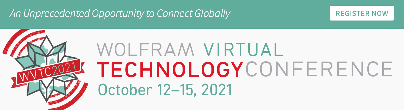 Wolfram Technology Conference 2021