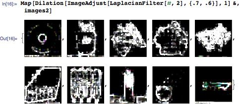 Processing all ten images