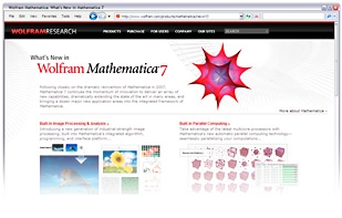 What's new in Wolfram Mathematica 7