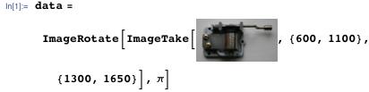 data=ImageRotate[ImageTake[,{600,1100},{1300,1650}],π]