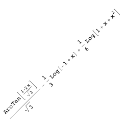 Rotated integration results