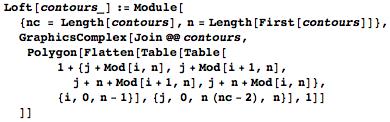Loft code example