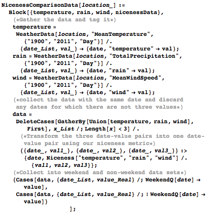 Tagging the data and letting Mathematica sort it out