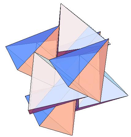 16-tetrahedra cell