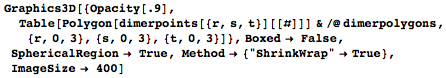 Code for a larger section of that packing