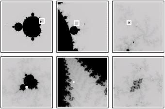 Mandelbrot set in A New Kind of Science