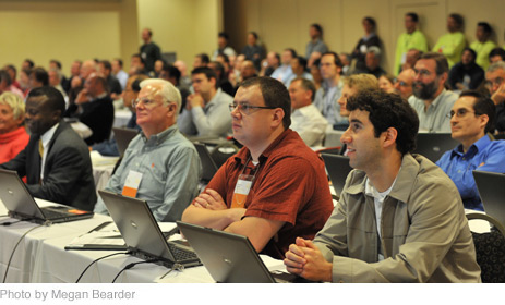 Attendees at the Wolfram Technology Conference 2010