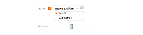 Make a slider