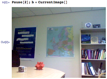 Second imported real-time test image