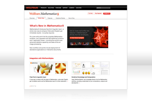 What's New in Mathematica 8