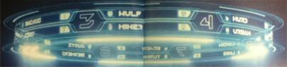 Scoreboard from TRON: Legacy