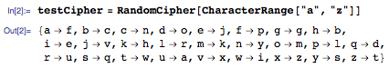 One of the 4 X 10^26 ciphers