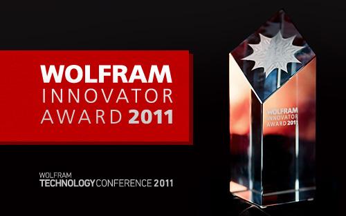 Wolfram Innovator Award 2011