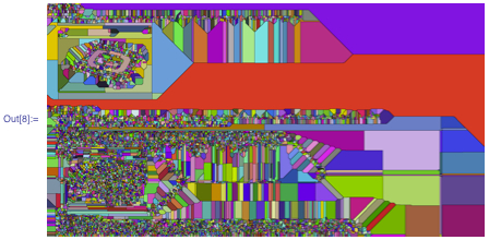 Colorful recursive image