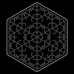 Dew in Spider Web, {1338,64}<br>Vitaliy Kaurov, January 11, 2012