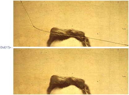 Side-by-side comparison of the two Abraham Lincoln images
