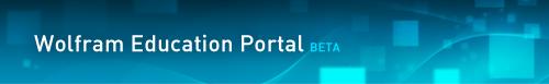 Wolfram Education Portal (Beta)
