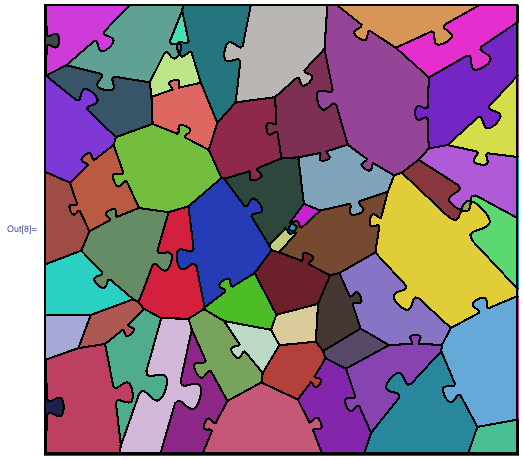 Voronoi diagram with locks