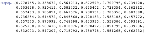 {0.778765, 0.338672, 0.561213, 0.872599, 0.709796, 0.739428, 0.503638, 0.920413, 0.582432, 0.635402, 0.728354, 0.662812, 0.657463, 0.785851, 0.662576, 0.708751, 0.786356, 0.603808, 0.736254, 0.614572, 0.845568, 0.720183, 0.583103, 0.457772, 0.657543, 0.873992, 0.748698, 0.433935, 0.558306, 0.593791, 0.625238, 0.569416, 0.818976, 0.598492, 0.851795, 0.339936, 0.532003, 0.547207, 0.715792, 0.758778, 0.551265, 0.662232}