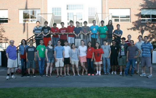 Mathematica Summer Camp 2012 attendees