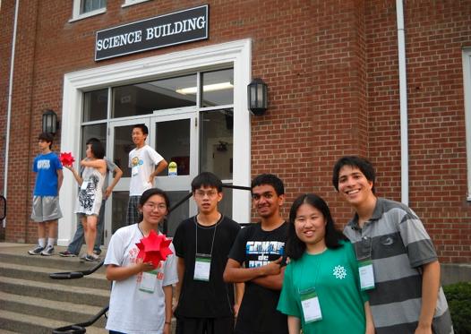 Students at Mathematica Summer Camp 2012