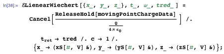 Visualizing the electric field of the moving-point charge