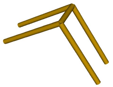 Frame of the catapult