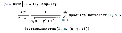 Simplifying the equation