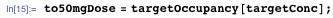 to50mgDose = targetOccupancy[targetConc];