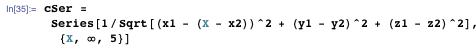 Calculating cSer