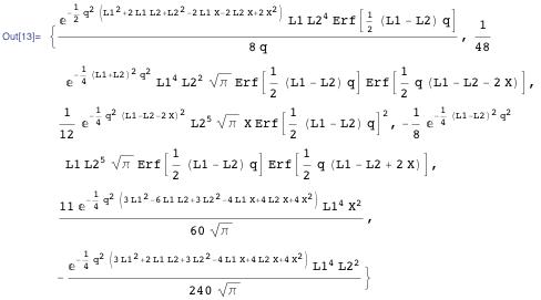Randomly selected equation