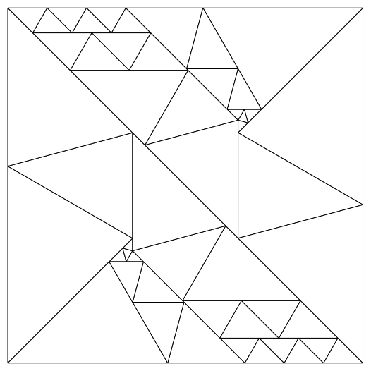 50 triangle solution