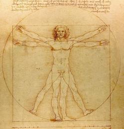 Vitruvian Man, Leonardo da Vinci, circa 1490