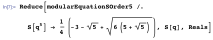 Beginning to simplify the equation
